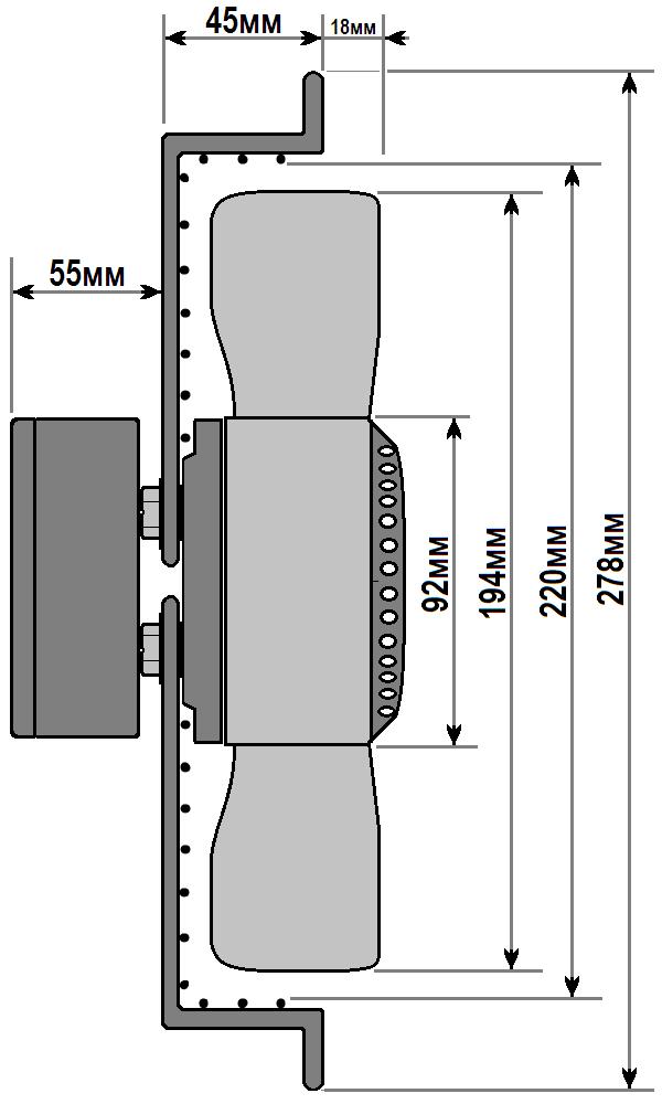 схема флюгер ywf 2e 200 b