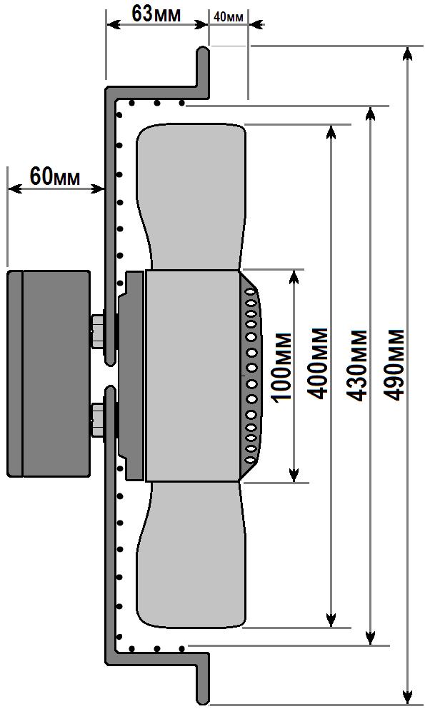 схема флюгер ywf 4e 400 b