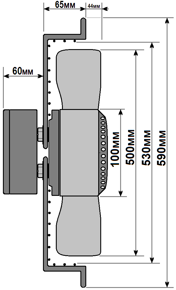 схема флюгер ywf 4e 500 b