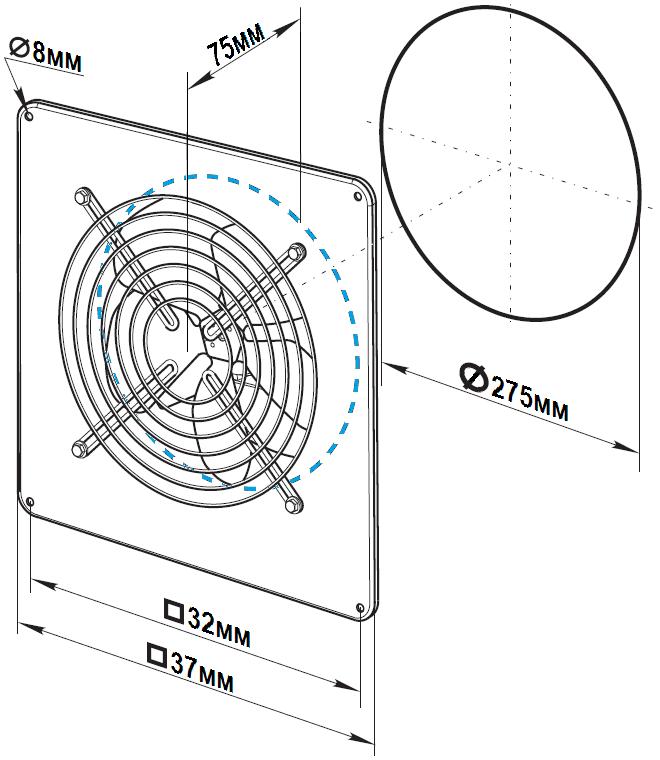 схема флюгер ywf b 2e 250