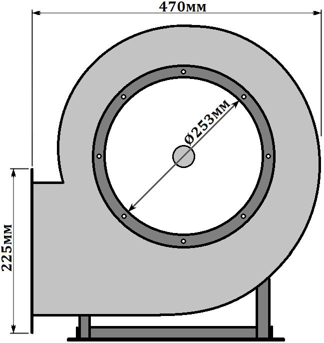 схема Горизонт ВР 287-46-2.5 0,75кВт