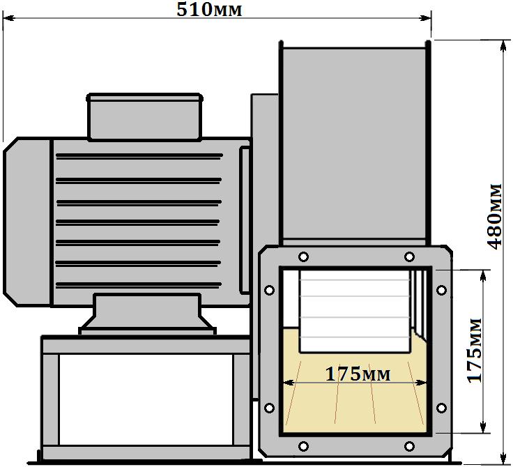 схема-2 Горизонт ВР 287-46-2.5 0,75кВт