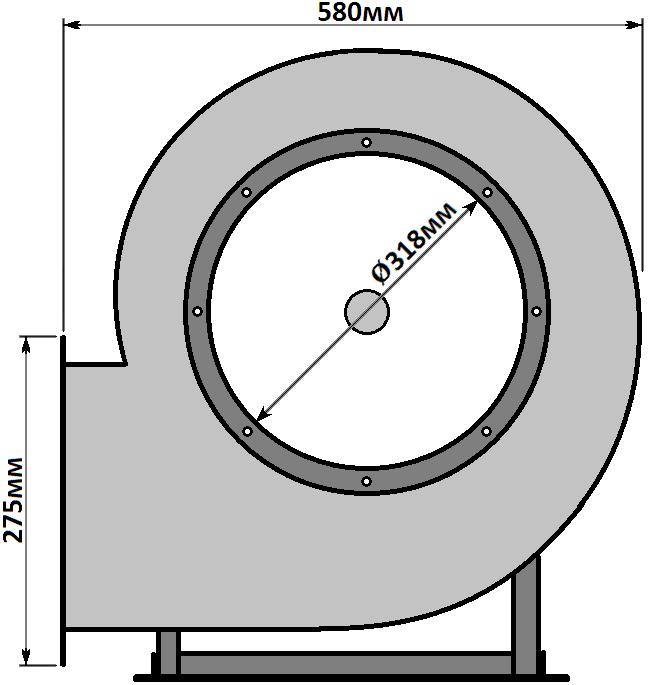 схема Горизонт ВР 287-46-3.15 1,5кВт