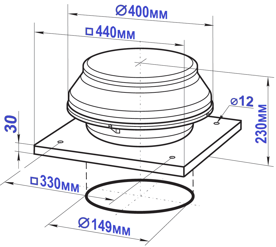 Схема вентс вкмк 150